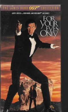 For Your Eyes Only James Bond 007 VHS