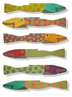 picket fence fish by sks ~ cottage coastal