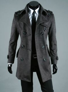 Mens coat mens wool coat mens overcoat wool coat men mens