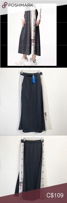 MEN'S ADIDAS ORIGINALS ADIBREAK TRACK PANTS BLACKWHITE *NEW!* Sz Medium br2232