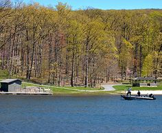 Fishing at Greenbrier Lake Greenbrier State Park; Boonsboro