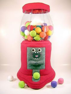 plush gumball machine