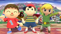 Villager, Ness and Toon Link - Super Smash Bros., Wii U