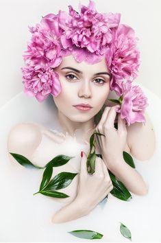 Idani Photography #flowers #leaves #water