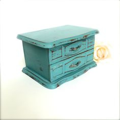 A personal favorite from my Etsy shop https://www.etsy.com/listing/234787604/vintage-jewelry-box-shabby-chic