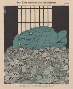 Thomas Theodor Heine - The Starvation Of The Ruhr, 1923 by Aeron...