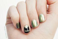 Absinthe Cat Nails | Sprinkles in Springs