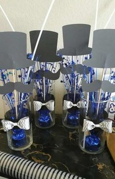 Ideas For Birthday Table Decorations For Men Ideas Bow Ties Mustache Birthday, 50th Birthday Party, Man Birthday, Birthday Balloons, Birthday Ideas, 50th Birthday Centerpieces, Birthday Table Decorations, Mustache Party Centerpieces, Cadre Photo Booth