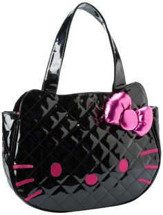 Hello Kitty Bag , Hello Kitty Santb0210 Shoulder Bag,Black,One Size Hello Kitty, $59.99