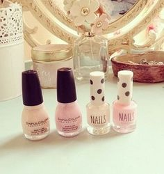 pastel nail polishes: sinful colors and top shop nail polishes Just Girl Things, Girly Things, Girly Stuff, Pink Stuff, Cute Beauty, Diy Beauty, Beauty Tips, Cute Nails, Pretty Nails