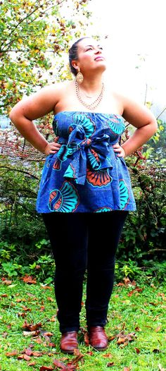 Multiple usage ankara top skirt use it as you wish by LilZia