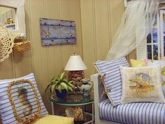 Beach House, 1:6 scale Coastal Living Room by Abigails Joy, via Flickr
