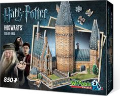 Alternative view 2 of Harry Potter Hogwarts Castle Great Hall 3D Puzzle