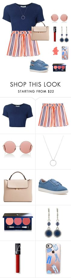 """Untitled #4"" by daniveana ❤ liked on Polyvore featuring Sea, New York, Diane Von Furstenberg, Christopher Kane, Roberto Coin, MANGO, J/Slides, Vapour Organic Beauty, Nine West, Casetify and Obsessive Compulsive Cosmetics"