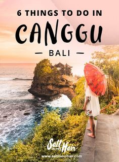 Canggu is a new digital nomad hotspot on the island of Bali, and a popular travel destination too. Here are some of the top things to do in Canggu, Bali. Kuta, Bali Lombok, Canggu Bali, Ubud, Voyage Bali, Destination Voyage, Bali Travel Guide, Asia Travel, Travel To Bali