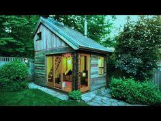Adorable Sheds Turned Cottages - YouTube