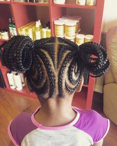 Splendid 10 Easy Braids Hairstyles for Little Girls Little Girl Braid Hairstyles, Little Girl Braids, Cute Hairstyles For Kids, Black Girl Braids, Kids Braided Hairstyles, Braids For Kids, Braids For Black Hair, My Hairstyle, Girls Braids