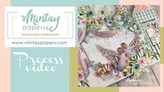 """# 51   Cute triptych with """"Happy place"""" collection   Anastasia Tveritneva Paper Manufacturers, Triptych, Marry Me, Wedding Cards, Paper Crafts, Crafty, Make It Yourself, Frame, Happy"""