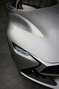 Infiniti Vision GT Concept - Surface details