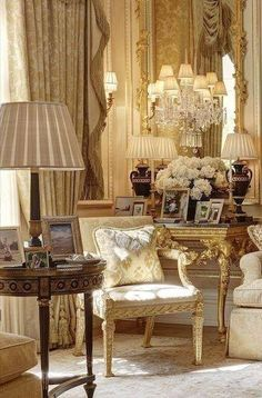 #French - inspired room