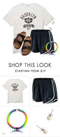 """""""Super Bowl Sunday!!!"""" by flroasburn ❤ liked on Polyvore featuring Ralph Lauren, NIKE, J.Crew and Birkenstock"""