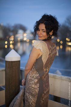 Платье для Ольги - платье на заказ,Платье нарядное,женственное платье