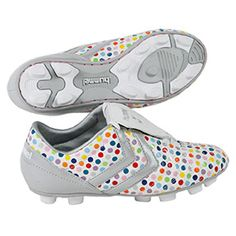 rainbow colored soccer cleats!