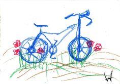 Fahrrad Gouache, Fun, Bicycle, Hilarious