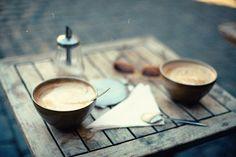likeaking:    coffeemindedginger:coffee (by justyna zdunczyk)