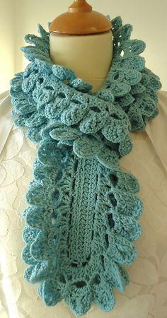 Swishy Scarf pattern by Nicki Trench
