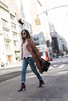 aimee_song_of_style_nyc_michelle_mason_trench_paige_denim_celine_boots_jw_anderson_bag_self_portrait_sweater