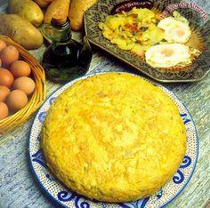 Huevos fritos con patatas a lo pobre : Mi recetario de cocina. Recetas y consejos.