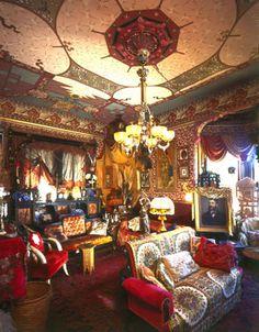 Turkish parlor in the Brune-Rutlinger House, San Francisco.