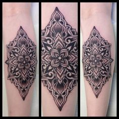 black lotus mandala tattoo | 20 Best Tattoos of the Week – Aug 21th to Aug 27th, 2012 (10)