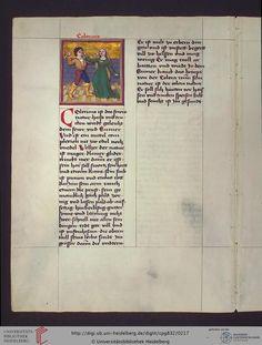 Cod. Pal. germ. 832  Heidelberger Schicksalsbuch — Regensburg, nach 1491