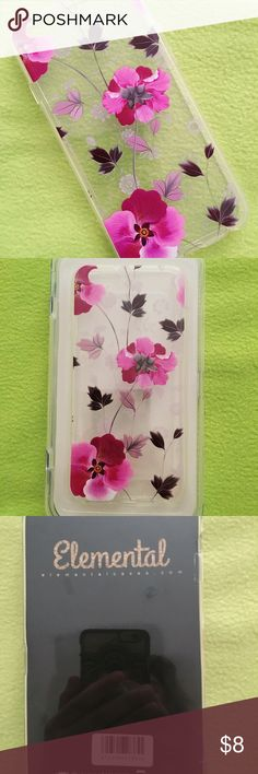 iPhone 6/6s floral case from Elemental Never used . Beautiful floral design 🌸. No rips or wear. elemental Accessories Phone Cases