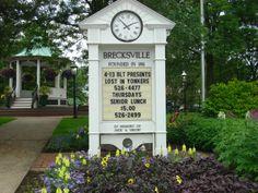 Brecksville Ohio on the square