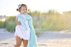 Toddler muslin blanket with Pom Pom trim / Aqua / baby beach photography / toddler Muslin Blankets, Muslin Swaddle Blanket, Baby Beach, Toddler Blanket, Pom Pom Trim, Beach Photography, Little Ones, Aqua, Flower Girl Dresses