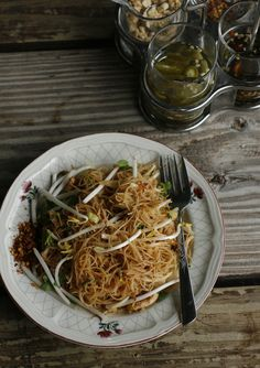 vermicelli & chili jam - this sounds like it would make a great cold lunch at the office.