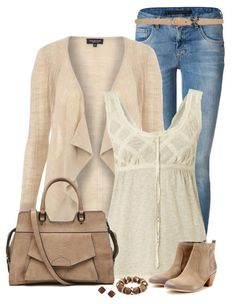 Cute Fall Outfit With Skinny Jeans and Ankle Boots