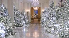 Melania Trump Presents the White House Christmas Decorations in Dior - Vogue