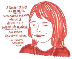 Elizabeth McCracken at the 2014 Story Prize Awards, 3/4/15
