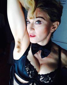 Madonna Embraces Her Natural Side, Posts Underarm Hair Selfie