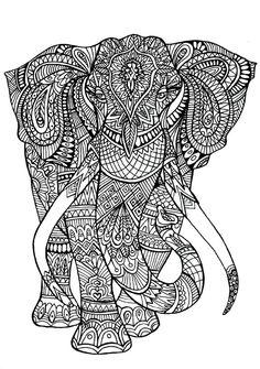 And if your kids adore animals especially elephant, it's time for another free printable pack – this time with easy and mandala-inspired elephant coloring pages for kids and adults! Elephant Coloring Page, Horse Coloring Pages, Printable Adult Coloring Pages, Mandala Coloring Pages, Colouring Pages, Coloring Pages For Kids, Coloring Books, Free Coloring Pictures, Adult Coloring Pages