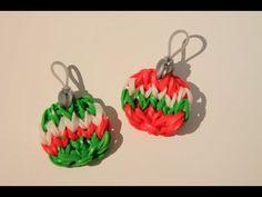 Rainbow Loom Tutorials, Rainbow Loom Patterns, Rainbow Loom Bands, Rainbow Loom Bracelets, Rainbow Loom Keychain, Rainbow Loom Charms, Angel Ornaments, Diy Christmas Ornaments, Diy Christmas Gifts