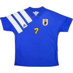 db652a5d79f 1992 Japan Match Worn Home Shirt  7 (Ihara) v Juventus - Classic Retro  Vintage Football Shirts