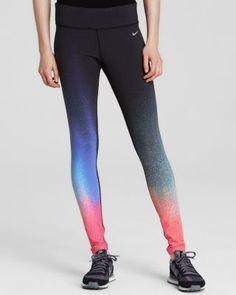 e437ba8b76 Nike Leggings - Gradient Full Length Tight | Bloomingdale's Nike Leggings,  Nike Outfits, Nike