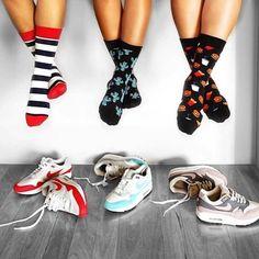 Funky Socks, Cute Socks, Burlington Socks, Sock Display, Food Socks, Novelty Socks, Kids Socks, Celine, Happy Socks