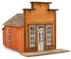 an assay office, by Wild West Models.