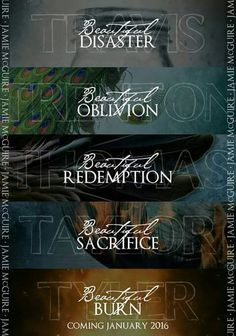 The most amazing book series! Beautiful Series and Maddox Brothers by Jamie McGuire. I Love Books, Good Books, Books To Read, My Books, Jamie Mcguire, Good Romance Books, Romance Novels, Beautiful Series, My Sun And Stars